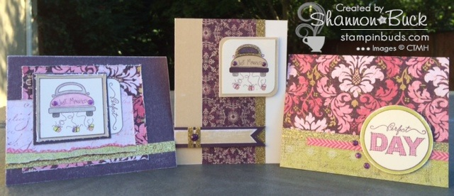 CTMH Cute Card Club July 2014