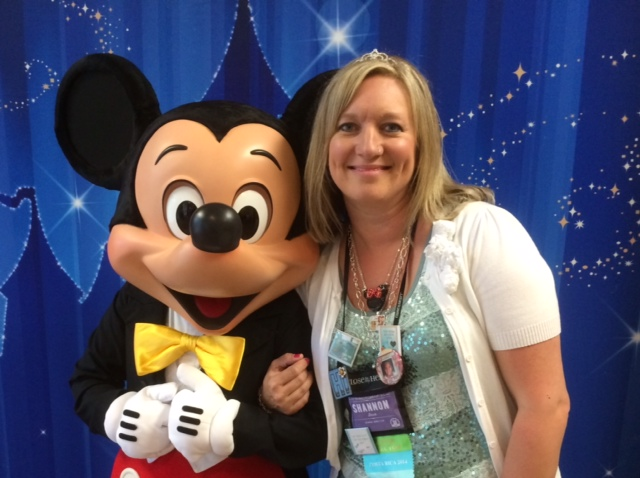 Shannon Buck and Mickey