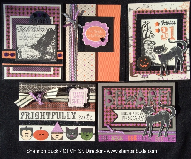 CTMH Scaredy Cat Cards