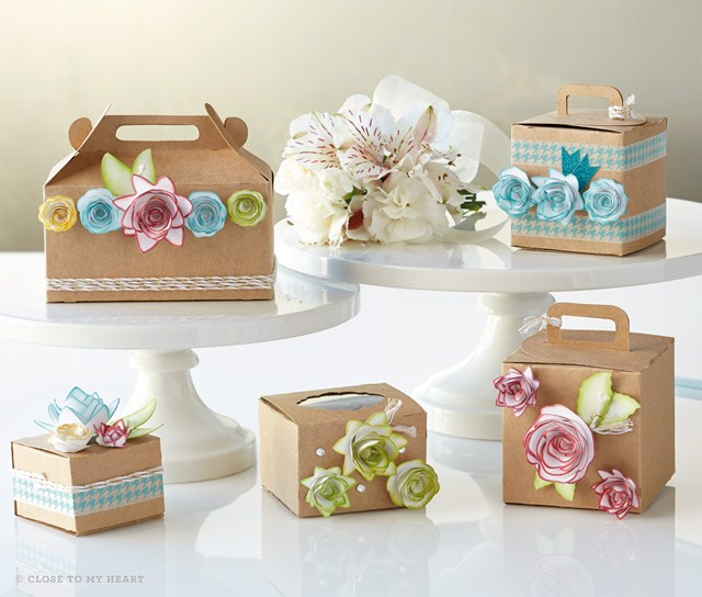 Beautiful Cricut Boxes