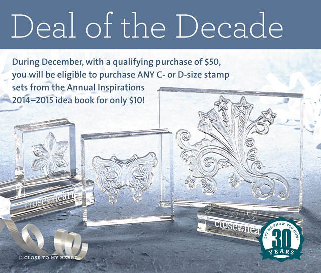 CTMH Specials Deal of the Decade December 2014