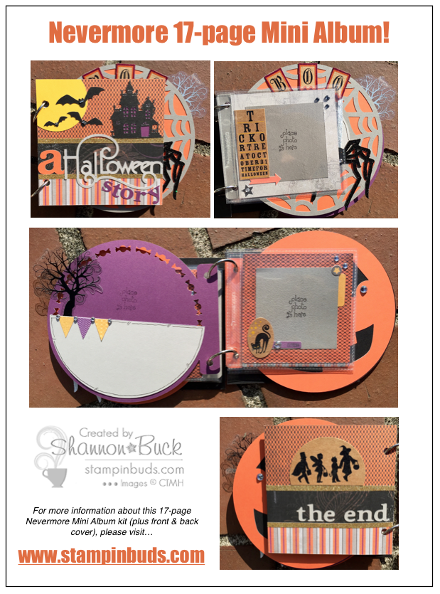 Stlampin' Buds Nevermore Mini Album Kit