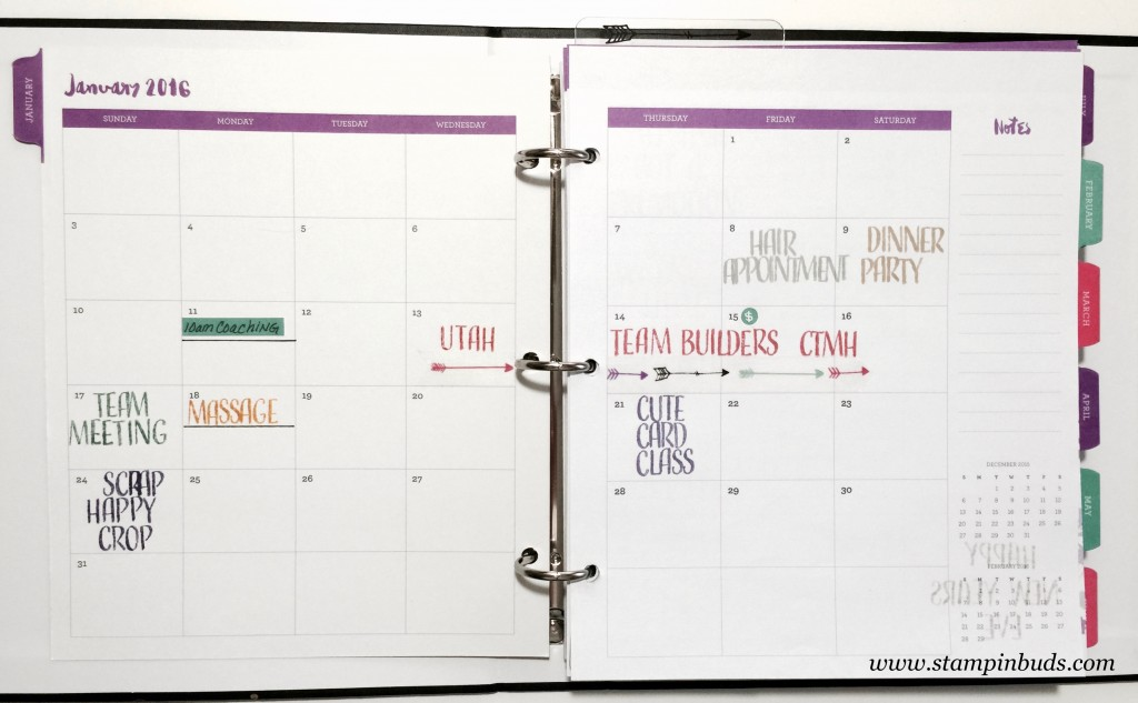 Everyday Life Planner Month View