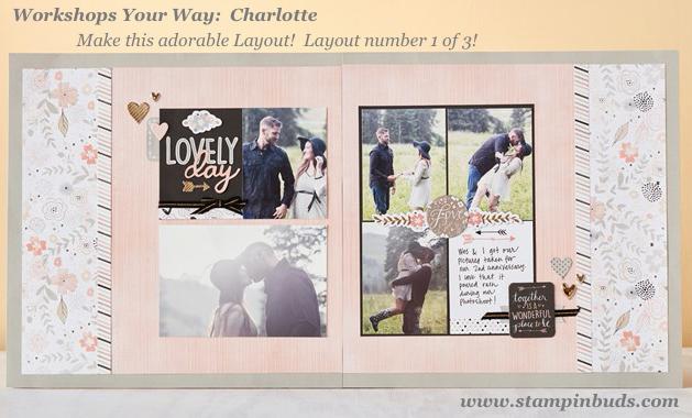 WYW Charlotte Scrapbook LO 1