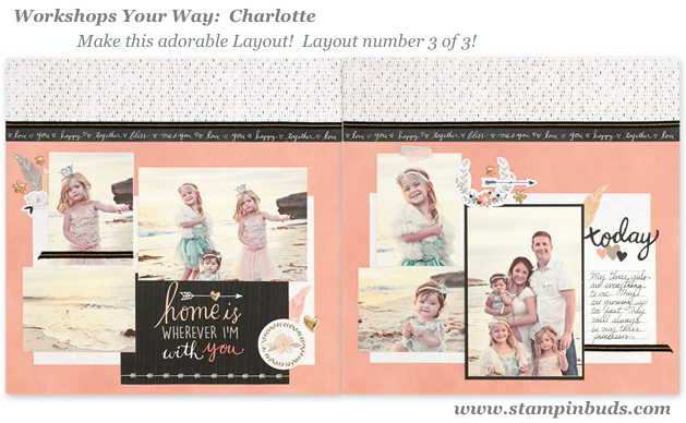 WYW Charlotte Scrapbooking LO 3