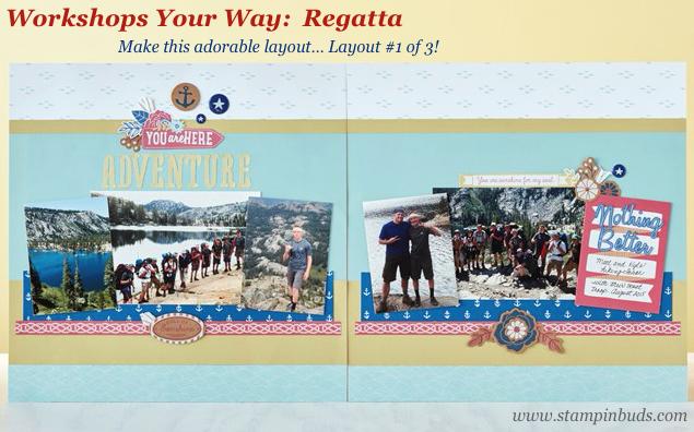 WWW Regatta Scrapbooking Kit LO 1
