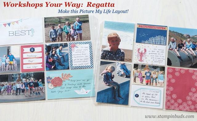 WWW Regatta Scrapbooking Kit PML
