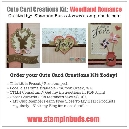 CCC Woodland Romance Cards - Charlotte