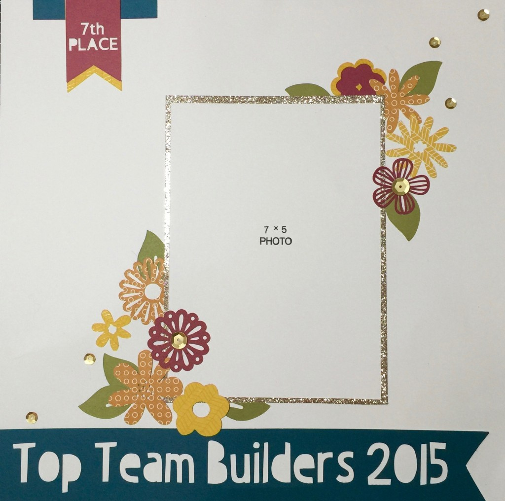 CTMH Top Team Builder 2015