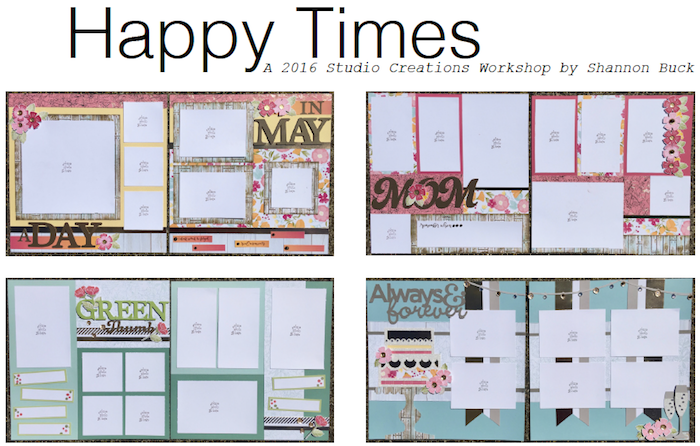 Happy Times Scrapbooking Kit
