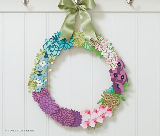 Flower Market Wreath