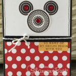 CTMH Mickey Mouse Anniversary Card