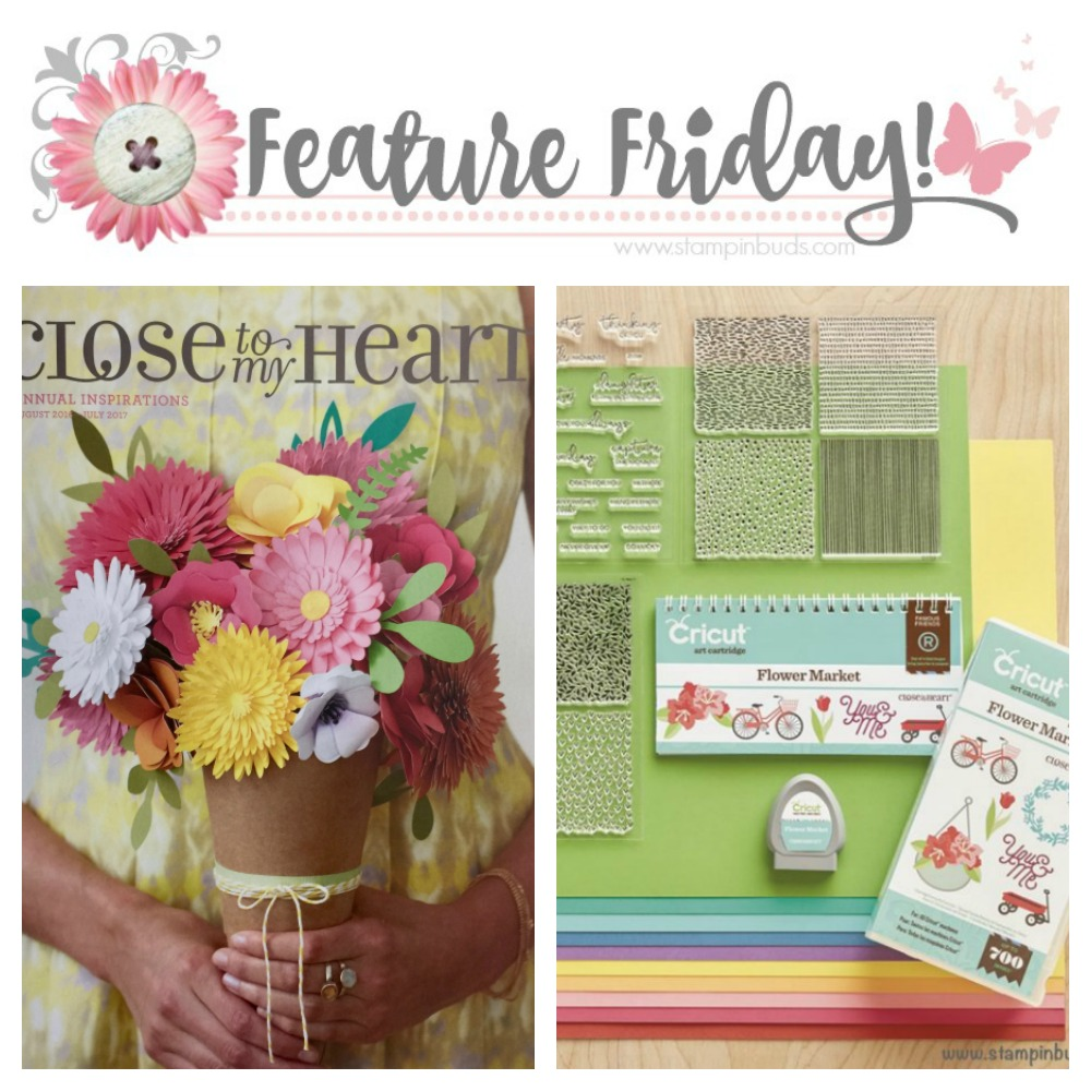 Feature Friday Cricut Flower Market Perk