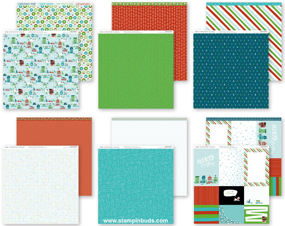 CTMH City Sidewalks Holiday Paper Pack