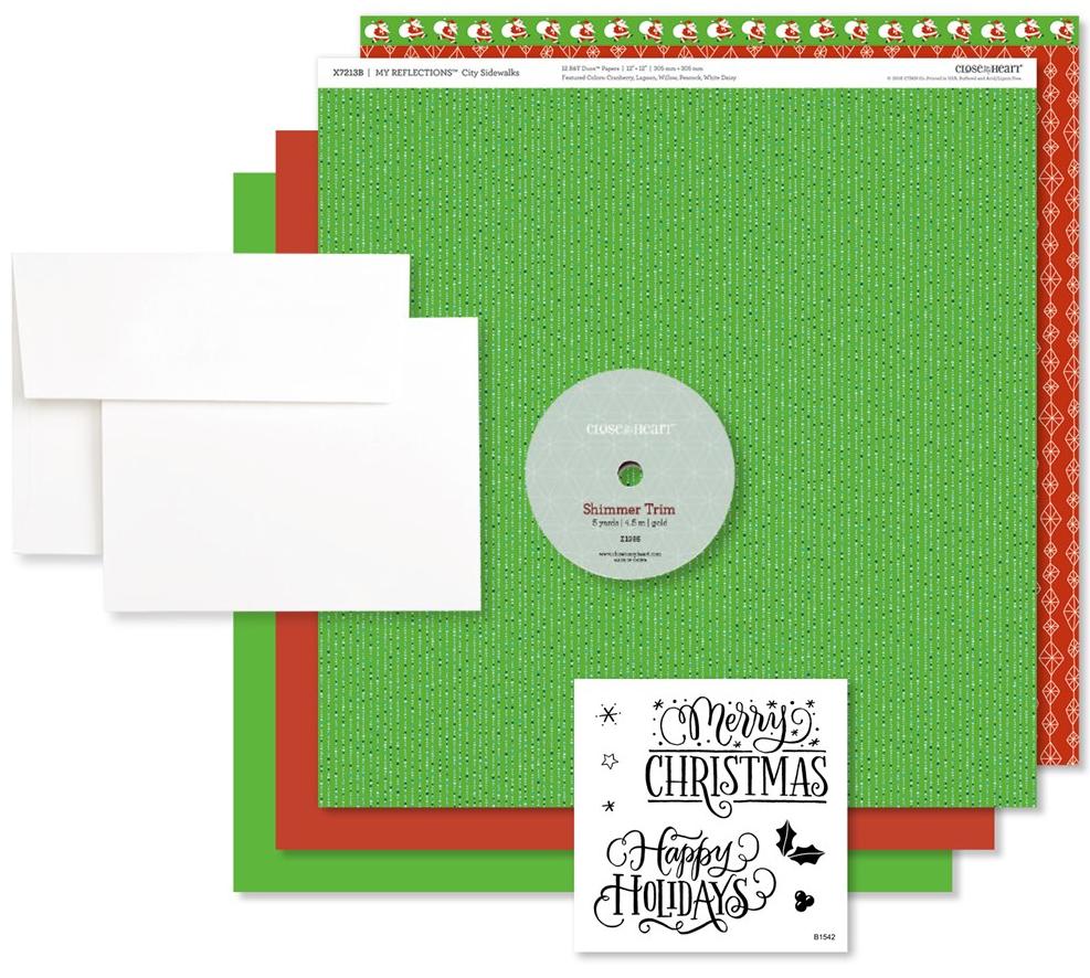 Happy Holidays Card Making Kit