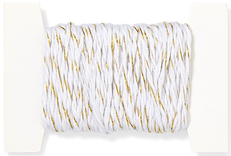 White and Gold Twine